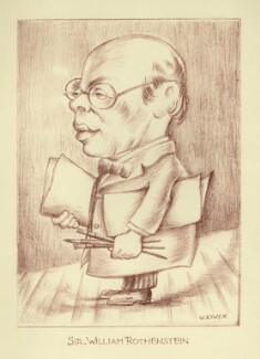 William Rothenstein, by Mark Wayner (Weiner) - NPG D23350