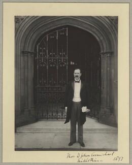 Thomas David Gibson Carmichael, 1st Baron Carmichael, by Benjamin Stone - NPG x9237