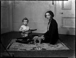 (Cecil) Robin Douglas-Home; Lady (Alexandra) Margaret Elizabeth Douglas-Home (née Spencer), by Bassano Ltd - NPG x150943