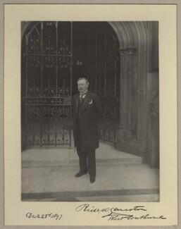 Richard Knight Causton, 1st Baron Southwark, by Benjamin Stone - NPG x9238