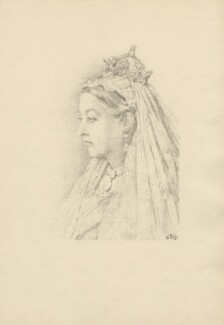 Queen Victoria, after Violet Manners, Duchess of Rutland - NPG D23351