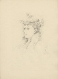 Princess Beatrice of Battenberg, after Violet Manners, Duchess of Rutland - NPG D23352