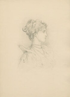 Winifred Anna (née Dallas-Yorke), Duchess of Portland, after Violet Manners, Duchess of Rutland - NPG D23355