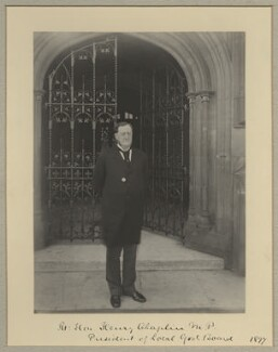 Henry Chaplin, 1st Viscount Chaplin, by Sir (John) Benjamin Stone, 1897 - NPG x9250 - © National Portrait Gallery, London