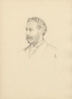Francis Thomas de Grey Cowper, 7th Earl Cowper, after Violet Manners, Duchess of Rutland - NPG D23377