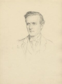 Herbert Henry Asquith, 1st Earl of Oxford and Asquith, after Violet Manners, Duchess of Rutland - NPG D23393
