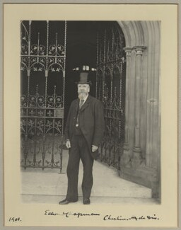 Edward Chapman, by Benjamin Stone - NPG x9252