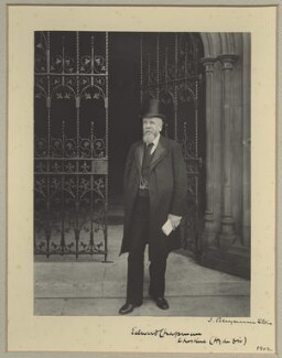 Edward Chapman, by Benjamin Stone - NPG x9253