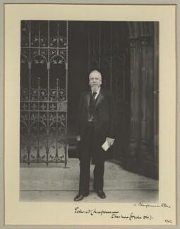 Edward Chapman, by Benjamin Stone - NPG x9254