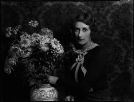 Freda Constance Bewicke-Copley (née Cripps), Lady Cromwell, by Bassano Ltd - NPG x150956