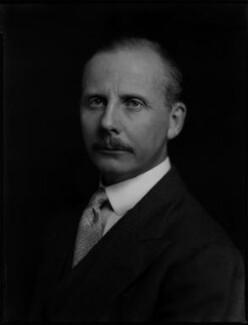 Robert Godfrey Wolseley Bewicke-Copley, 5th Baron Cromwell, by Bassano Ltd - NPG x150958