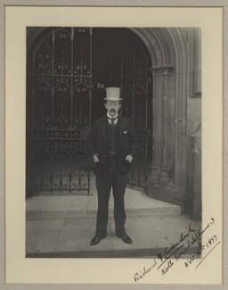 Lord Richard Frederick Cavendish, by Benjamin Stone - NPG x128590