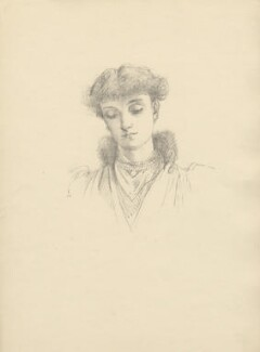 Alberta Victoria (née Paget), Countess of Plymouth, after Violet Manners, Duchess of Rutland - NPG D23357