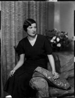 Elizabeth Mary Yarde-Buller (née Du Pre), Lady Churston, by Bassano Ltd - NPG x150967