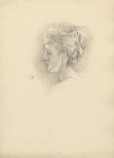 Charlotte Monckton Lister (née Tennant), Lady Ribblesdale, after Violet Manners, Duchess of Rutland - NPG D23360