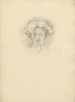 Ignace Jan Paderewski, after Violet Manners, Duchess of Rutland - NPG D23363