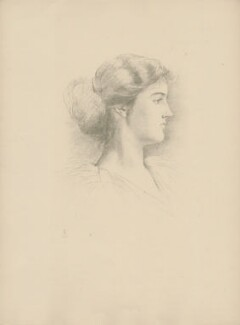 Lady Ulrica Baring (née Duncombe), after Violet Manners, Duchess of Rutland - NPG D23367