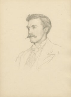 James Rennell Rodd, 1st Baron Rennell, after Violet Manners, Duchess of Rutland - NPG D23369