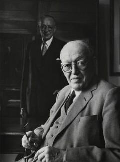 Helmut William Bruno Schroder, by Godfrey Argent - NPG x165968