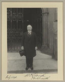Walter Owen Clough, by Benjamin Stone - NPG x9267
