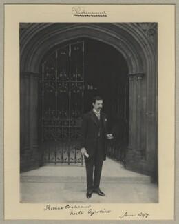 Thomas Horatio Arthur Ernest Cochrane, 1st Baron Cochrane of Cults, by Benjamin Stone - NPG x9268