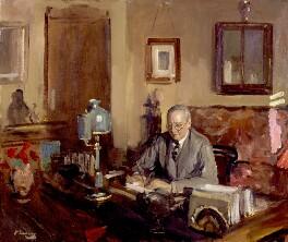 Edward Knoblock, by Sir John Lavery - NPG 6471