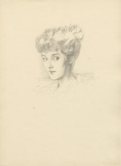 Sybil Mary (née St Clair-Erskine), Countess of Westmorland, after Violet Manners, Duchess of Rutland - NPG D23380