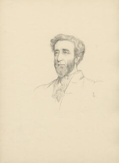 Arthur Wellesley Peel, 1st Viscount Peel, after Violet Manners, Duchess of Rutland - NPG D23381