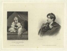 Sheikh Muhammad el Amin el Kanemi; Dixon Denham, by Edward Francis Finden, published by  John Samuel Murray, after  Thomas Phillips - NPG D23403