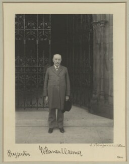 Sir William Randal Cremer, by Benjamin Stone - NPG x15739