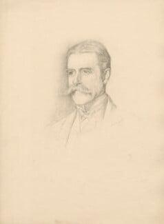 Sir Algernon Edward West, after Violet Manners, Duchess of Rutland - NPG D23389