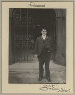 Thomas Bartholomew Curran, by Benjamin Stone - NPG x15746