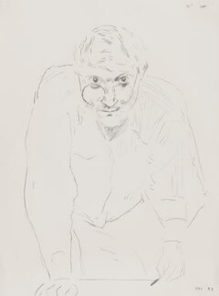 David Hockney, by David Hockney - NPG 6473