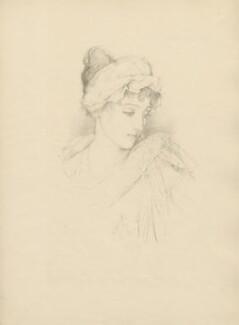 Norah Mary Madeleine Lindsay (née Bourke), after Violet Manners, Duchess of Rutland - NPG D23392