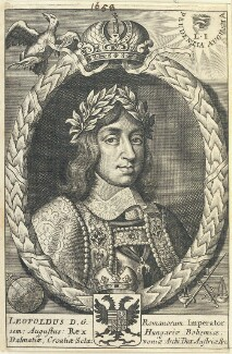 Leopold I, Holy Roman Emperor, by William Faithorne - NPG D22840