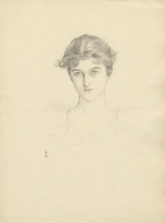 Pamela Grey (née Wyndham, later Lady Glenconner), Viscountess Grey of Fallodon, after Violet Manners, Duchess of Rutland - NPG D23397