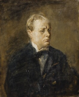 Winston Churchill, by Ambrose McEvoy, 1919-1920 - NPG 6478 - © National Portrait Gallery, London