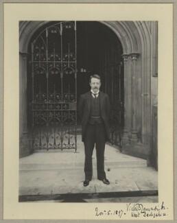 Victor Christian William Cavendish, 9th Duke of Devonshire, by Benjamin Stone - NPG x9239