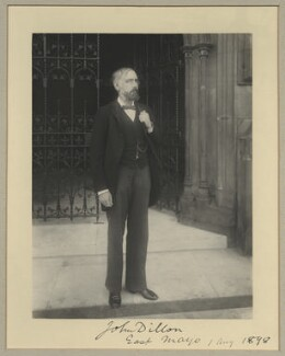 John Dillon, by Benjamin Stone - NPG x15769