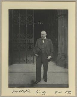 Sir George Doughty, by Benjamin Stone - NPG x15793