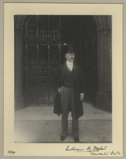 William Henry Foster, by Benjamin Stone - NPG x15838