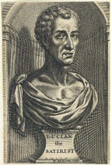 Lucian of Samosata, by William Faithorne - NPG D22849