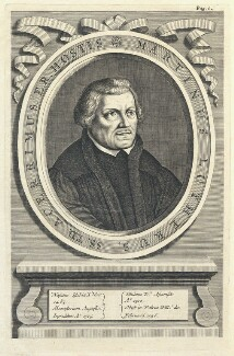 Martin Luther, by William Faithorne - NPG D22850