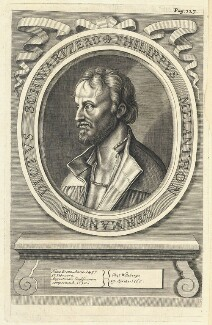 Philipp Melanchthon, by William Faithorne - NPG D22854