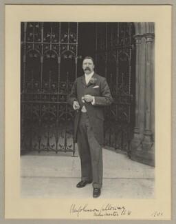William Johnson Galloway, by Benjamin Stone - NPG x16029
