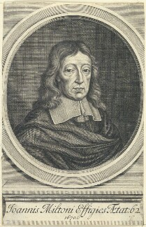 John Milton, after William Faithorne - NPG D22861