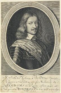 James Graham, 1st Marquess of Montrose, probably by William Faithorne - NPG D22862