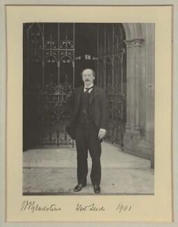 Herbert John Gladstone, 1st Viscount Gladstone, by Benjamin Stone - NPG x16036