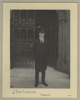 Sir Daniel Ford Goddard, by Benjamin Stone - NPG x16038