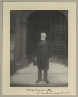 Walter Tuckfield Goldsworthy, by Benjamin Stone - NPG x16041